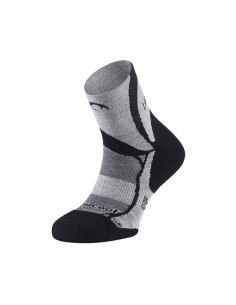 Calcetines Trail Running Lurbel Non-Stop H4 00A0.179U.0028 Negro/Gris hielo