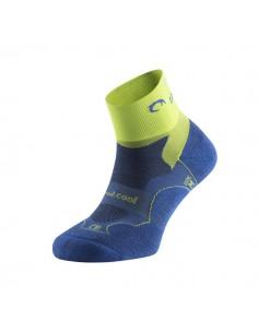 Calcetines Running Lurbel Distance H3 00B1.100U.0421 Azul Royal/Pistacho