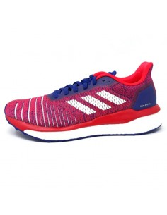 Adidas Solar Drive Mujer Active Blue/Ftwr White/Shock Red
