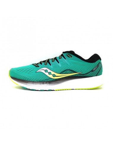 Saucony Ride ISO 2 Green/Black