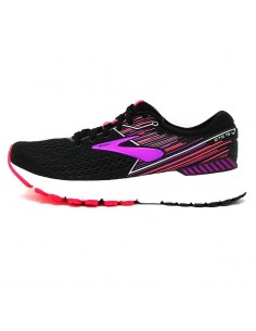 Brooks Adrenaline GTS 19 Mujer Black/Purple/Coral - 080