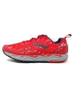 Brooks Caldera 3 Red/Orange/Grey