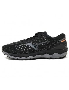 Mizuno Wave Sky 3 Black/Dark Shadow - J1GC190261