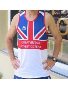 Camiseta Atletismo Great Britain Classics Mobel