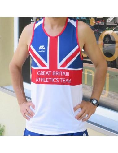 Camiseta Atletismo Great Britain Classics Mobel