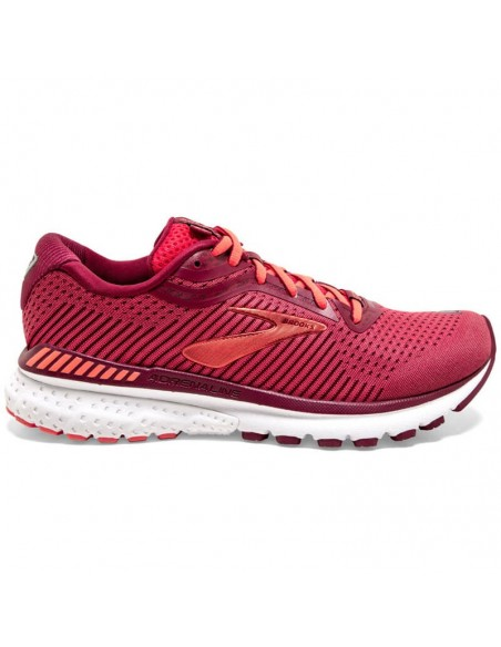 Brooks Adrenaline GTS 20 Mujer 628 - Rumba Red/Teaberry/Coral