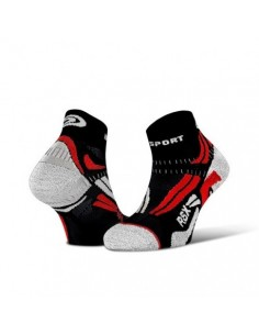 Calcetines BV SPORT RSX EVO 212/001 Black-Red