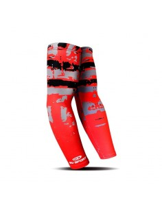 Manguitos Invierno BV SPORT ARX Arm Sleeves 461/005 Army Black-Red