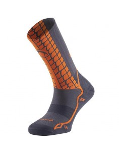 Calcetines Trail Running Lurbel Race Ice H5 00A1.169U.0313 Marengo/Naranja