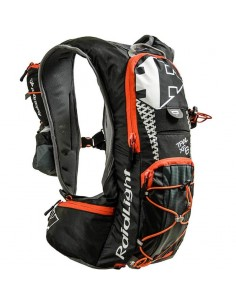 Mochila hidratación Raidlight XP6 EVO 9905 - Black/Piment