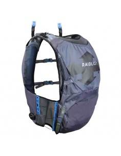 Chaleco Raidlight Revolutiv 12L 22K Dark Grey/Light Grey