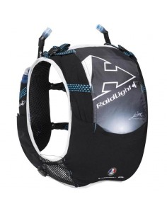 Chaleco Raidlight Responsiv 10L 20J Black/Electric Blue