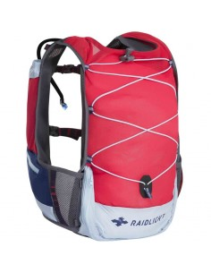 Chaleco Raidlight Activ 3L + Bolsa de hidratación 1,2L 30H Red/Light Blue