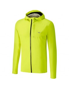 Chaqueta Mizuno WATERPROOF 20K Jacket SAFETY YELLOW