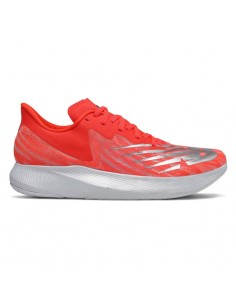 New Balance FuelCell TC EnergyStreak MRCXNF Neo Flame with Light Aluminum & White