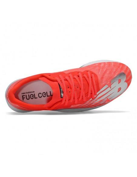 New Balance FuelCell TC EnergyStreak MRCXNF Neo Flame with Light Aluminum & White
