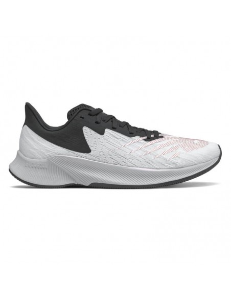 New Balance FuelCell Prism EnergyStreak MFCPZSC White with Neo Flame & Black
