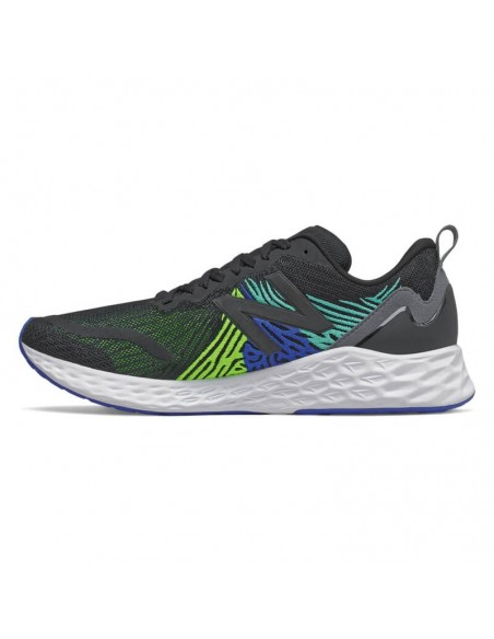New Balance Fresh Foam Tempo MTMPOBL - Black with Energy Lime & Cobalt Blue