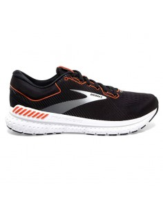 Brooks Transcend 7 043 - Black/Cherry Tomato White