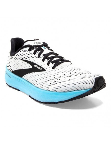 Brooks Hyperion Tempo 129 - White/Black/Iced Aqua