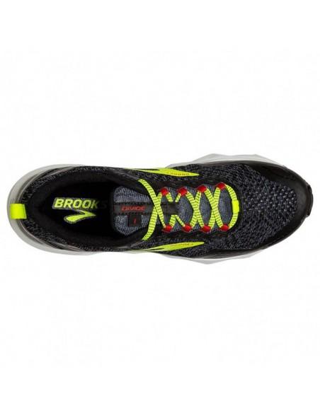 Brooks Divide 075 - Black/Ebony/Red