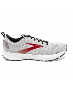 Brooks Revel 4 029 - Grey/Black/Capri