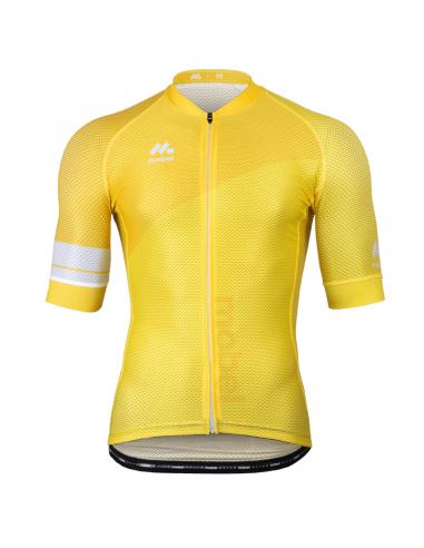 Maillot ciclismo Mobel Star Amarillo