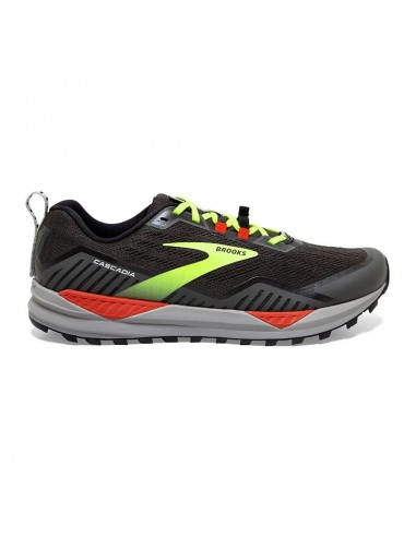 Brooks Cascadia 15 076 - Black/Raven/Cherry Tomato