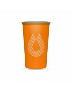 Vaso flexible Hydrapak Speed Cup 150 ml Naranja Fluor